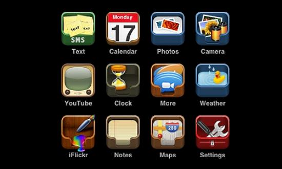 48 new iphone icons Free Collection of Apple Inspired Icons