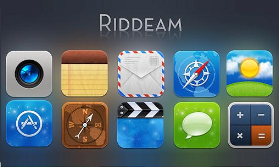 49 riddeam for iphone Free Collection of Apple Inspired Icons
