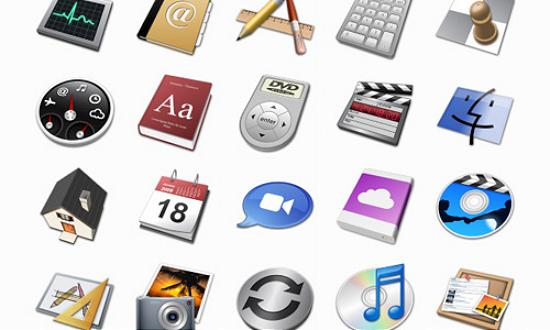 52 mac 3ds Free Collection of Apple Inspired Icons