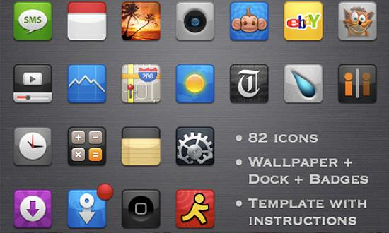 55 radiance Free Collection of Apple Inspired Icons