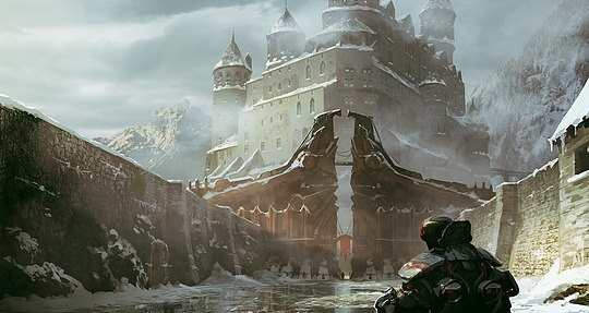 Stunning Concept Art by Michel Donzé