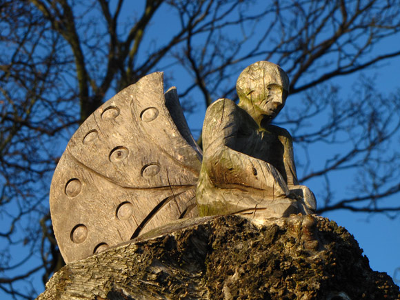 fairy carved