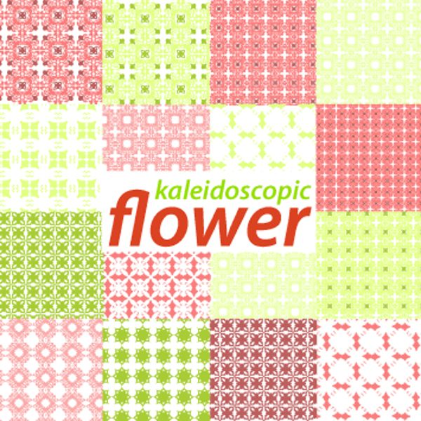wide set of flowers designs
