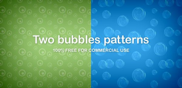 bubbles patterns