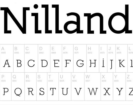 nilland free high quality font web design Quality Collection of Free Fonts for Designers