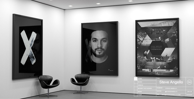 steveangello 30 Outstanding Full screen Websites