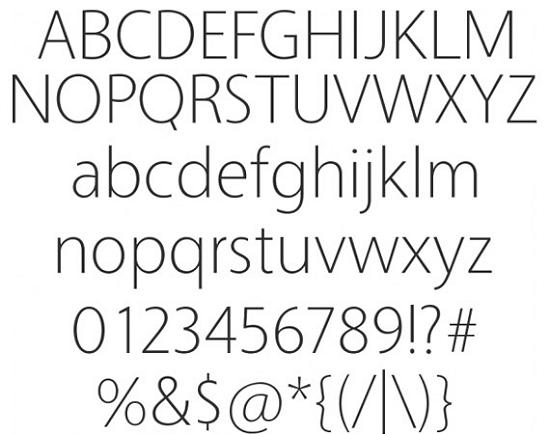 vegur free high quality font web design Quality Collection of Free Fonts for Designers