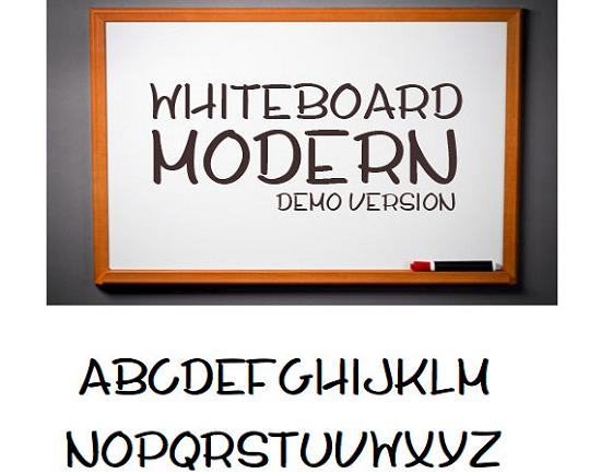 whiteboard modern demo free high quality font web design Quality Collection of Free Fonts for Designers