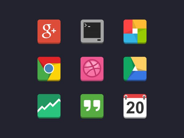 andriod icons