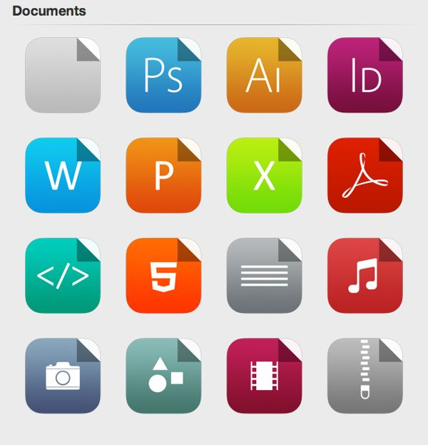 apple icons latest