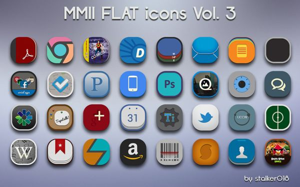 wide collection of icons