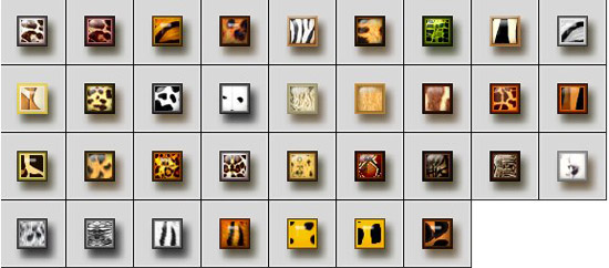 My new collection style Safari by Lucifer017 Splendid collection of Layer Styles for Photoshop