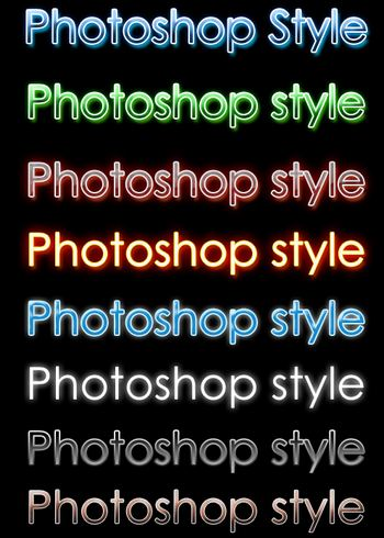 New photoshop styles by Sultan Almarzoogi Splendid collection of Layer Styles for Photoshop