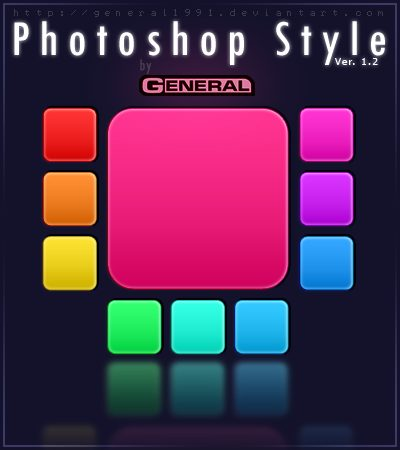 Photoshop Style Ver  1 2 by General1991 Splendid collection of Layer Styles for Photoshop