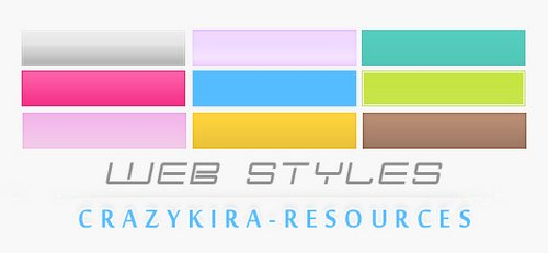 Styles  4 by crazykira resources Splendid collection of Layer Styles for Photoshop
