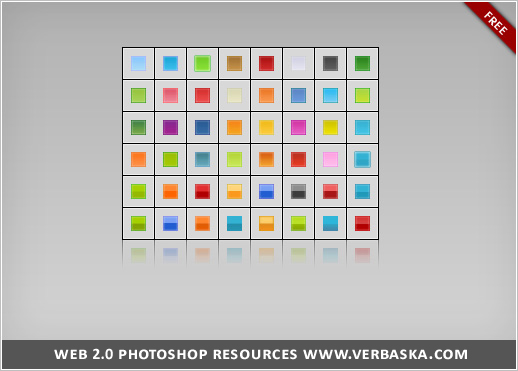 Web 2 0 Layer Effects by verbaska Splendid collection of Layer Styles for Photoshop