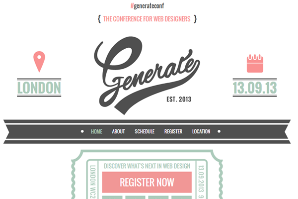 generate web conference 2013 inspiration