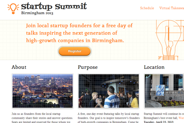 startup summit conference website 2013