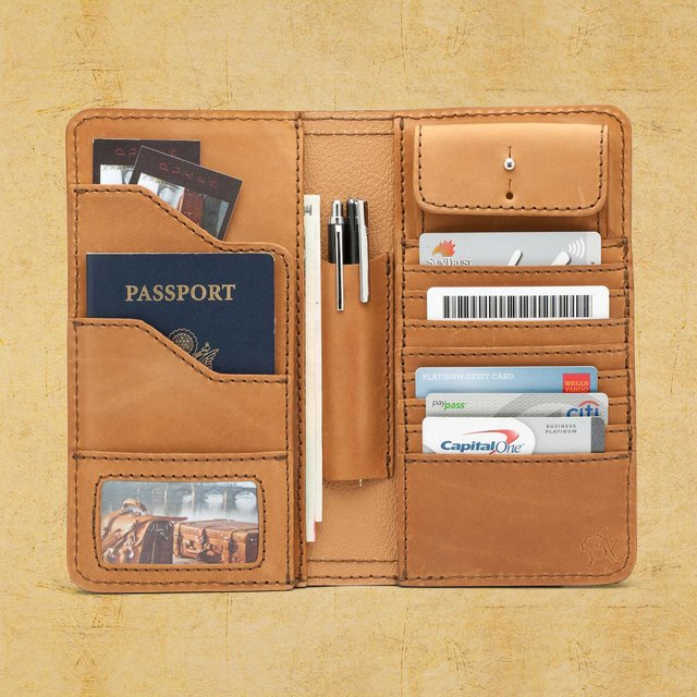 Creative product designs #31- Big Leather Wallet by Saddleback Leather