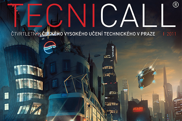 technicall magazine artwork cover design