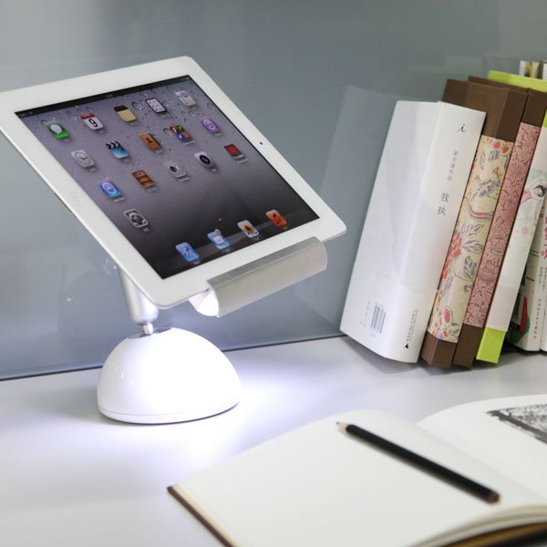 Creative product designs #37- iLight Tablet Stand Lamp by GGMM