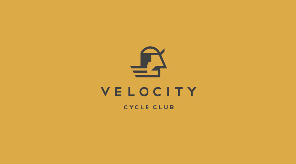 Logo design inspiration #26 - VELOCITY CYCLE CLUB by Hobo and Sailor Design