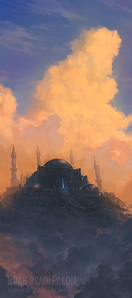 Cool Concept Illustrations by Noah Bradley