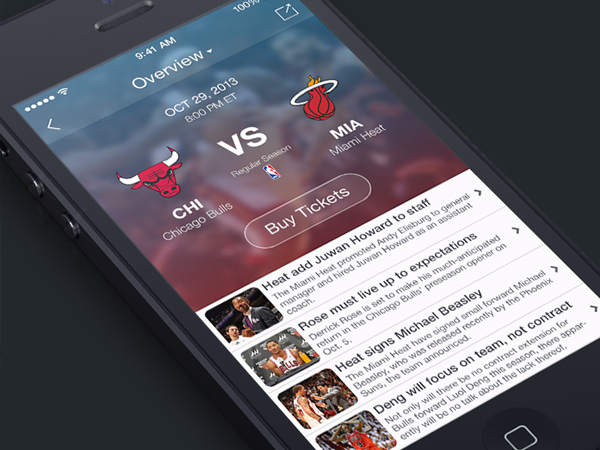 nba game information iphone app sports numbers