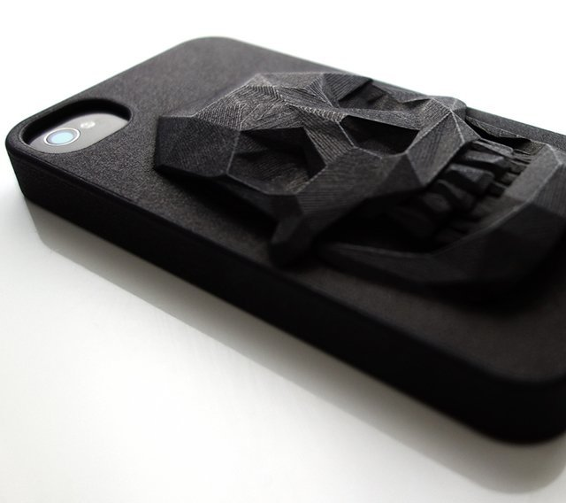 Creative product designs #47- 3D Printed Skull iPhone Case