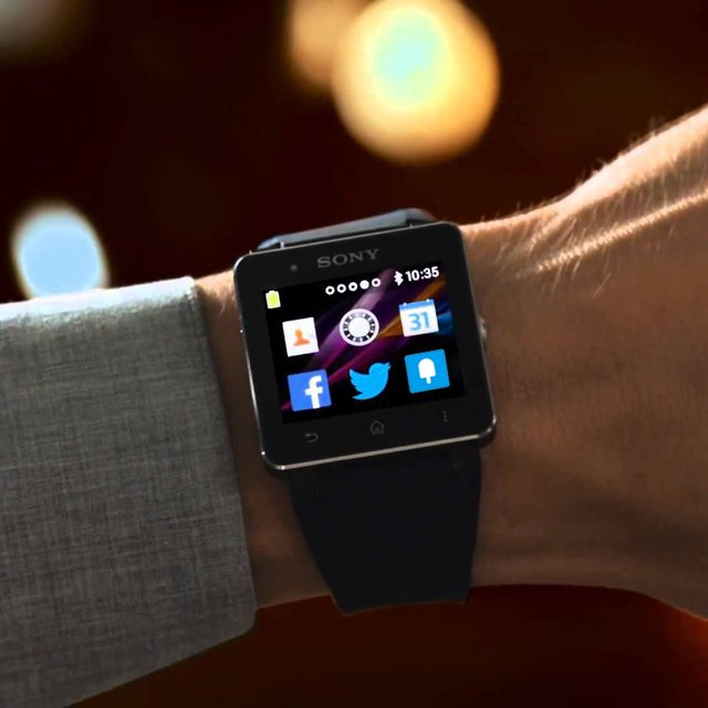 Creative product designs #47- Sony SmartWatch 2