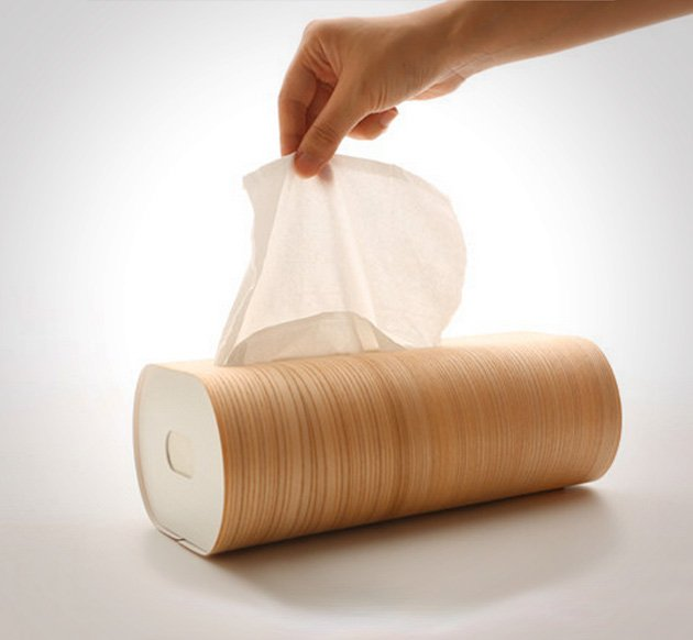 Creative product designs #46- Wooden Tissue Box