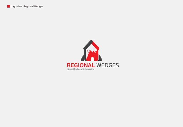 Logo design inspiration #31 - Regional Wedges by Abanoub Nasr
