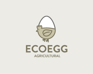 Logo design inspiration #30 - EcoEgg by Markus