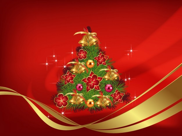 Merry Christmas Design AI File Background Christmas