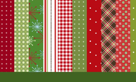 free download retro vintage wrapping paper christmas patterns