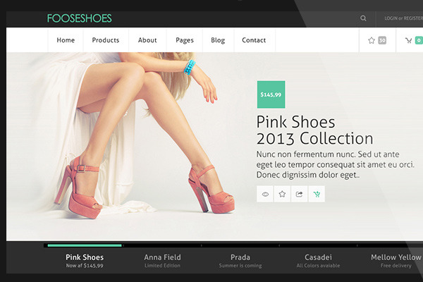 freebie psd mockup ecommerce theme download