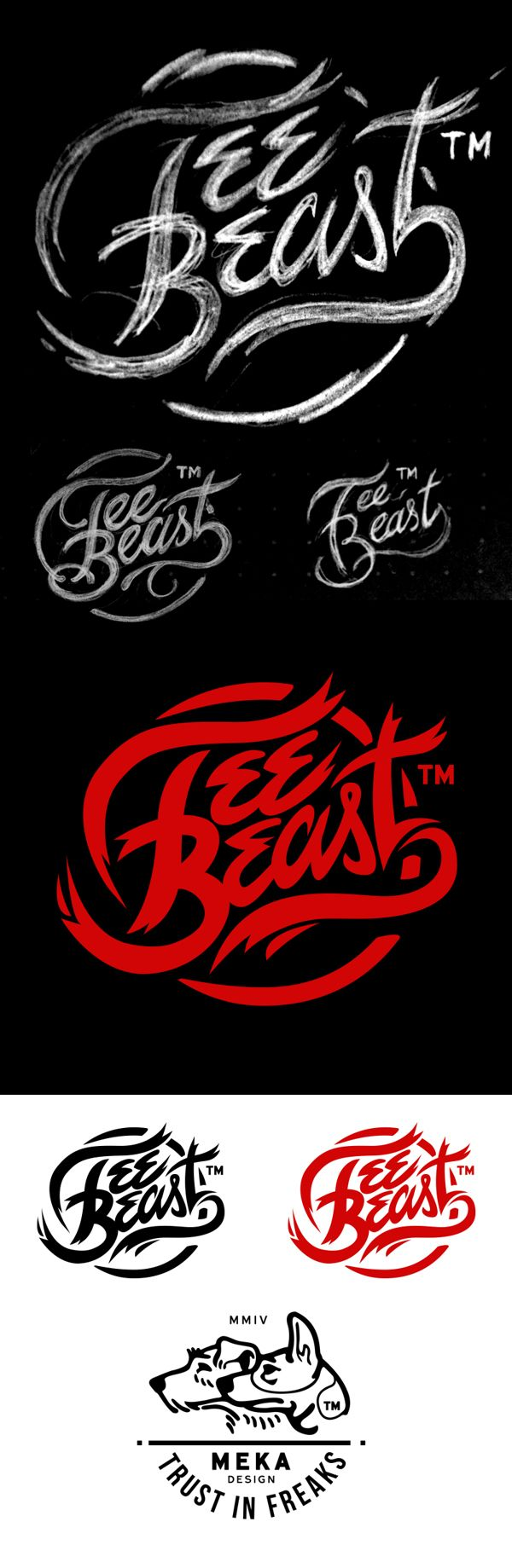 Tee Beast Logo Design by MEKA