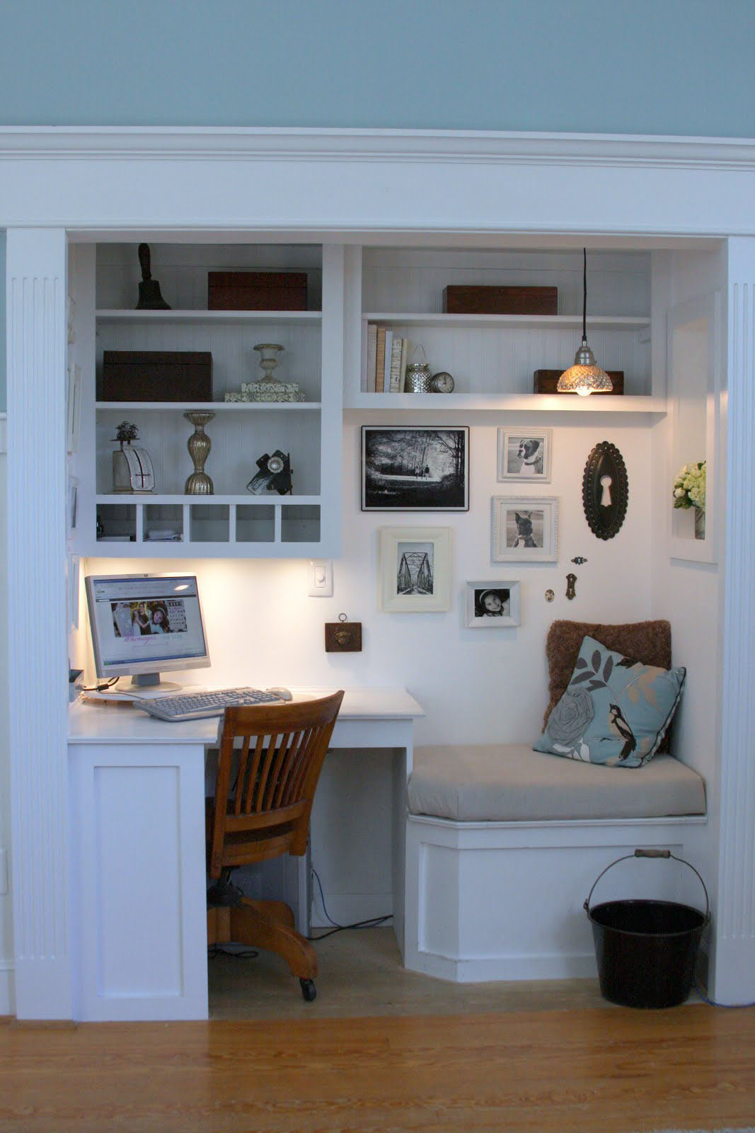 Elegant home office style 8 30 Creative Home Office Ideas: Working from Home in Style