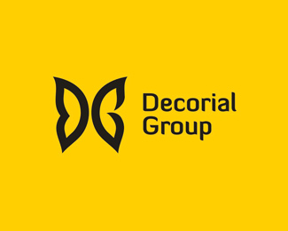 Logo design inspiration #33 - Decorial Group by Zaicev Constantine