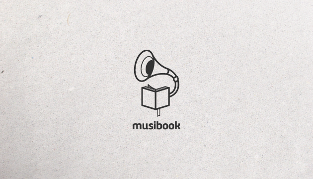 Logo design inspiration #33 - MusiBook by SPARKcreative