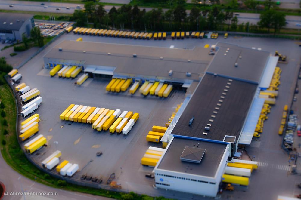 DHL headquarter in Stockholm