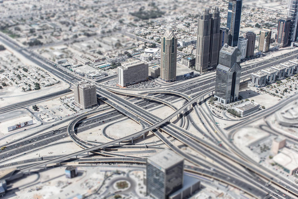 Dubai Tilt Shift