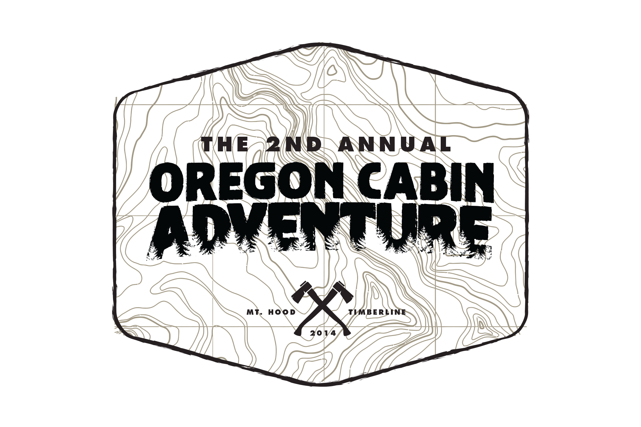 2nd Annual Oregon Cabin Adventure Branding