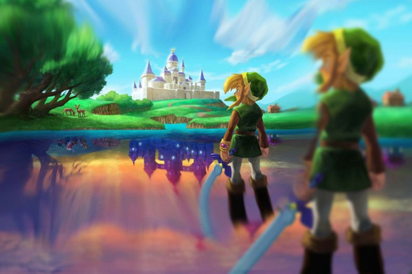 legend of zelda link between worlds youtube art