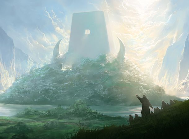 the end of sorrow heaven environment noah bradley