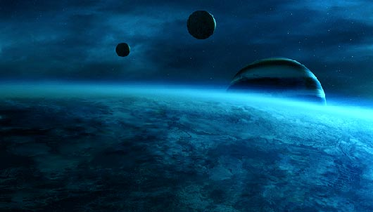 Blue Power Fantastic Sci Fi Wallpapers From Out Of World