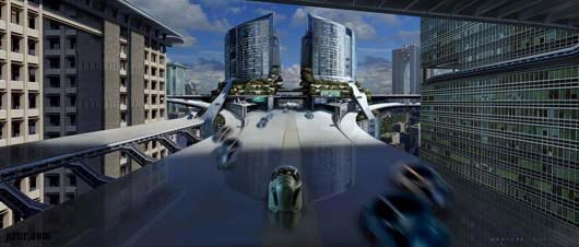 Maglev Hub Minority Report Fantastic Sci Fi Wallpapers From Out Of World