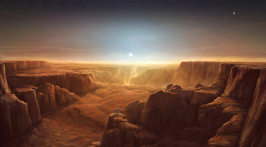 Mars Best Sunrise Landscape Wallpapers