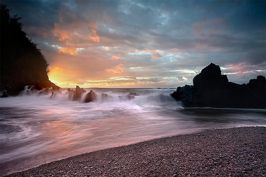 Maui Red Best Sunrise Landscape Wallpapers