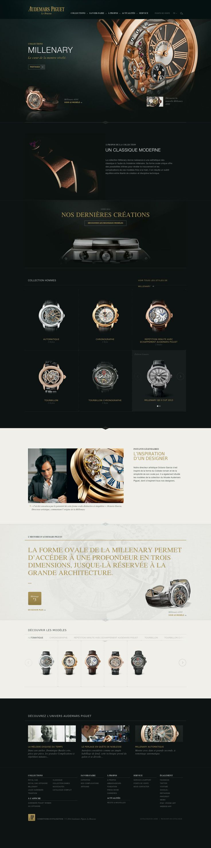 Audemars Piguet website